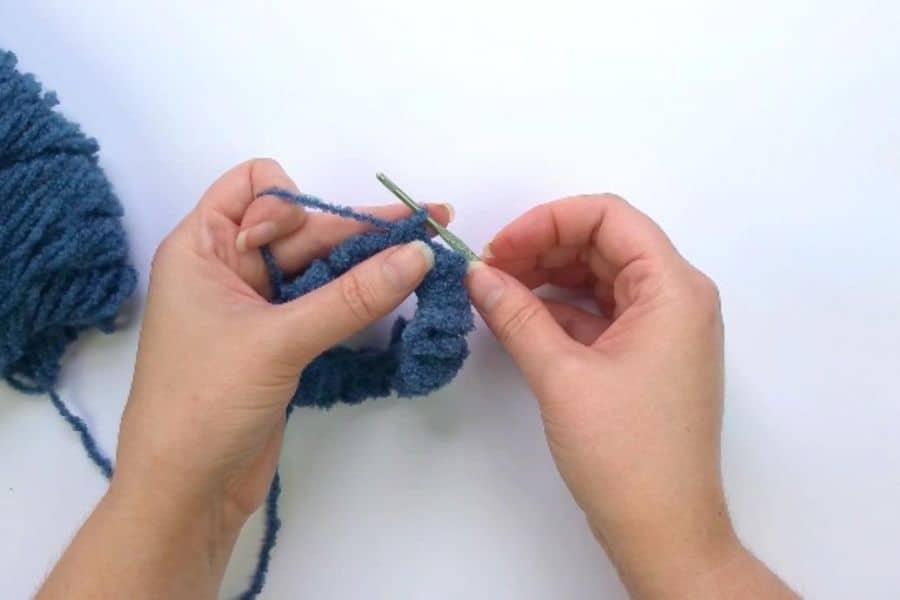 closing the gap in scrunchie