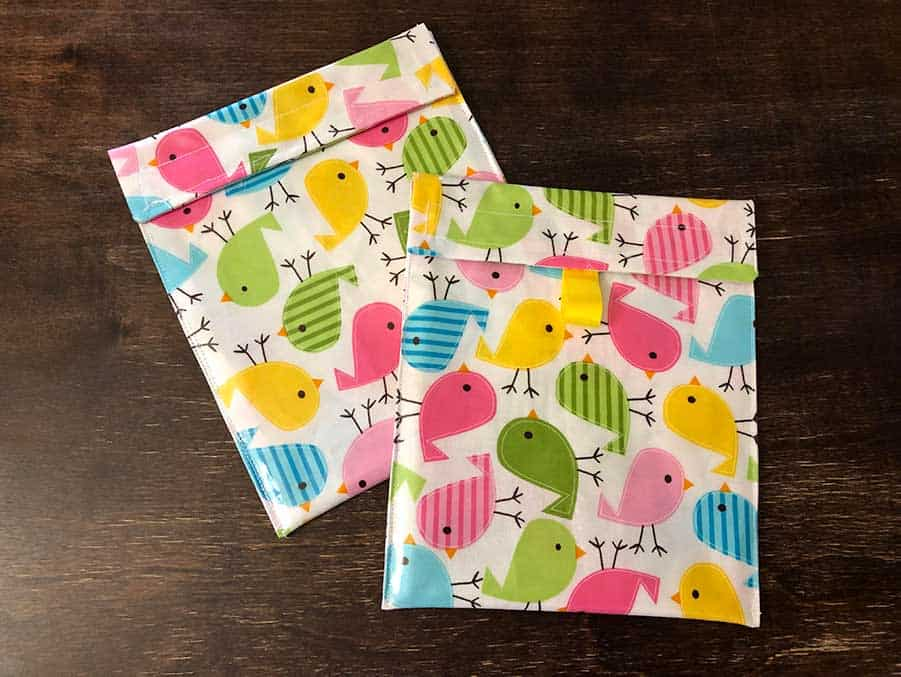 How To Make Reusable Sandwich Bags