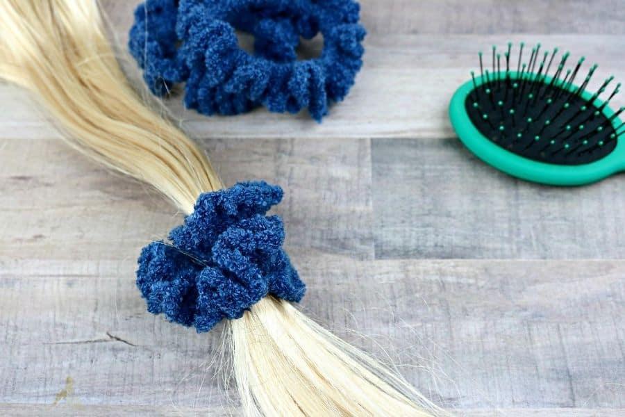 How To Crochet A Scrunchie Tutorial