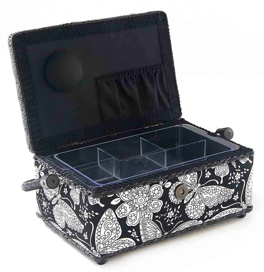 sewing box for building your own sewing kit