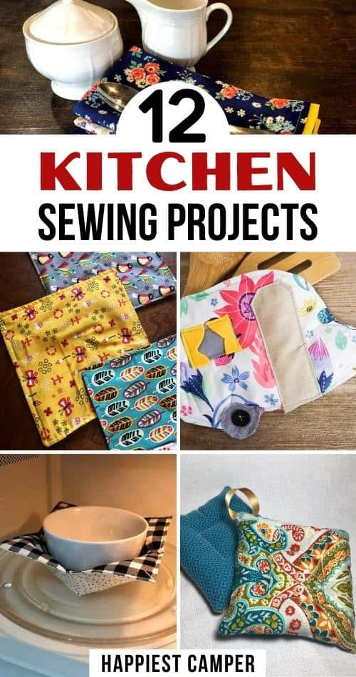 12 Kitchen Sewing Projects