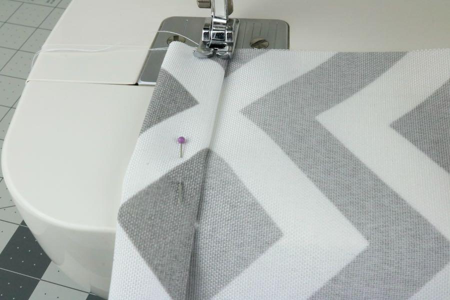 Sew along edge of Easy Cross Body Bag