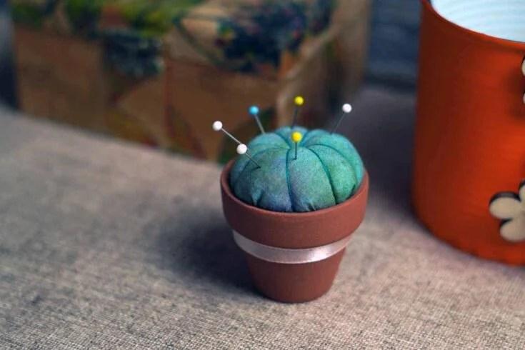 Cactus Pin Cushion Create Card
