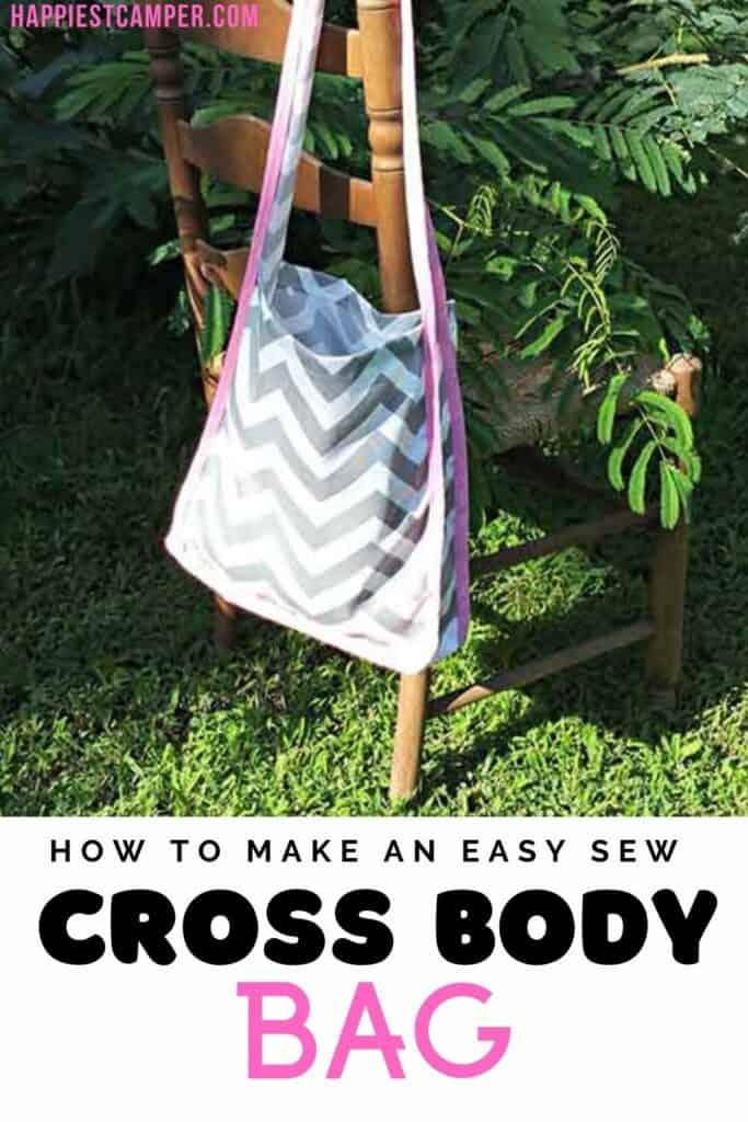 Easy Sew Cross Body Bag Pin