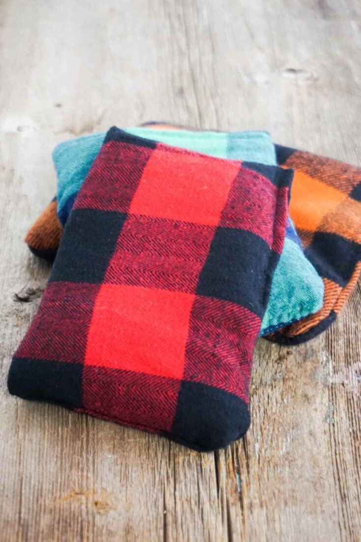 DIY Reusable Hand Warmers Completed
