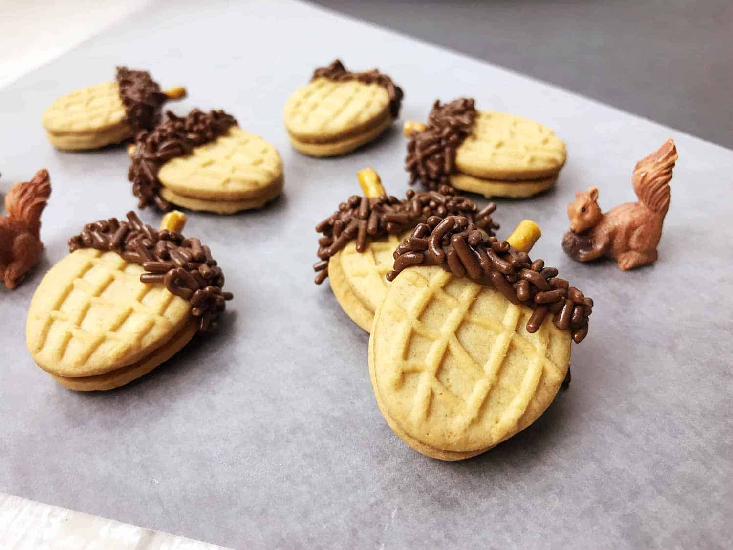 Easy Acorn Cookies For Fall Create Card