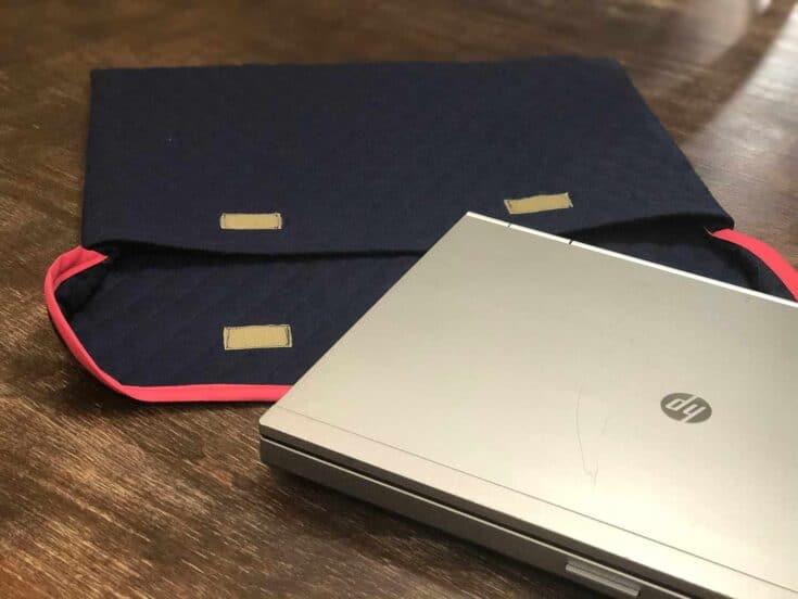 Easy DIY Laptop Sleeve