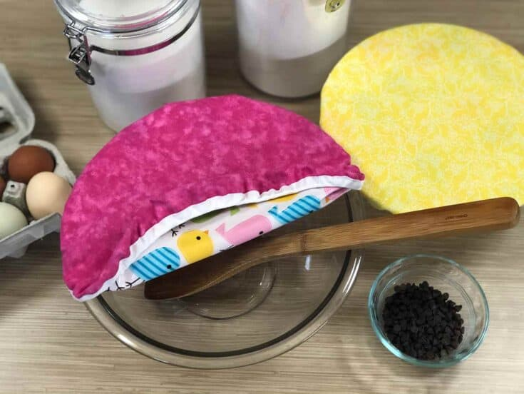 Easy Sew Reusable Bowl Covers Create Card
