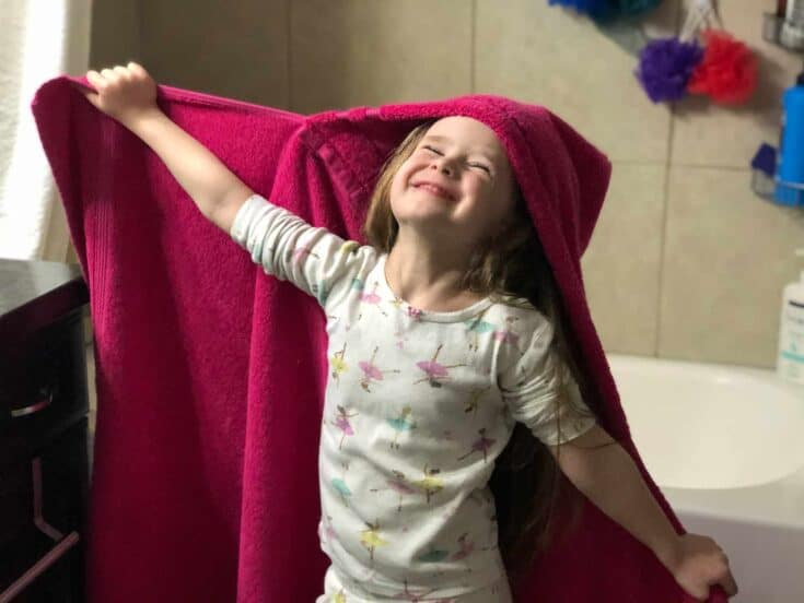 How To Make A Kid's Hooded Towel Create Card