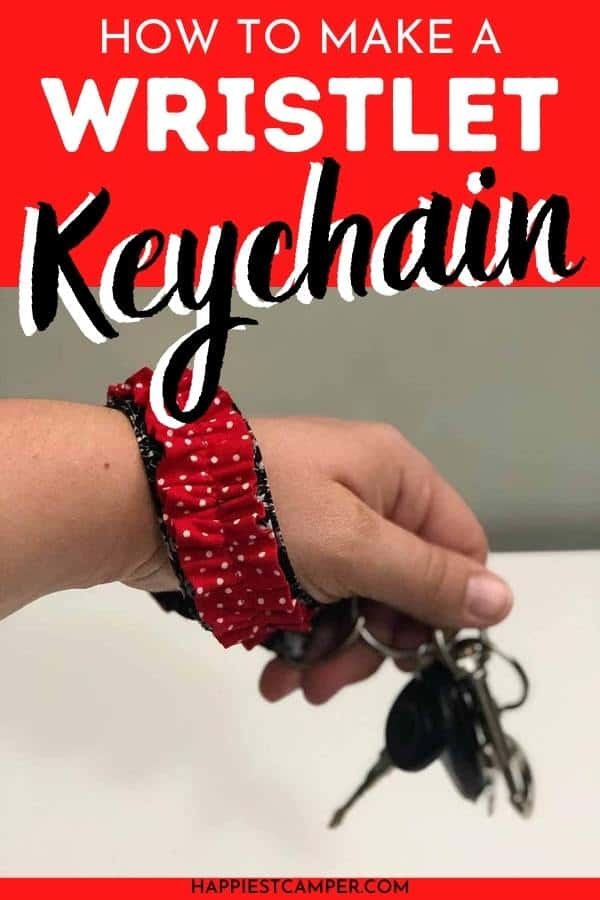 How To Make A Wristlet Keychain Out Of Fabric