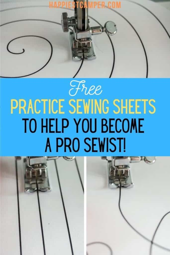 Free Sewing Practice Sheets To Help You Become A Pro Sewist!