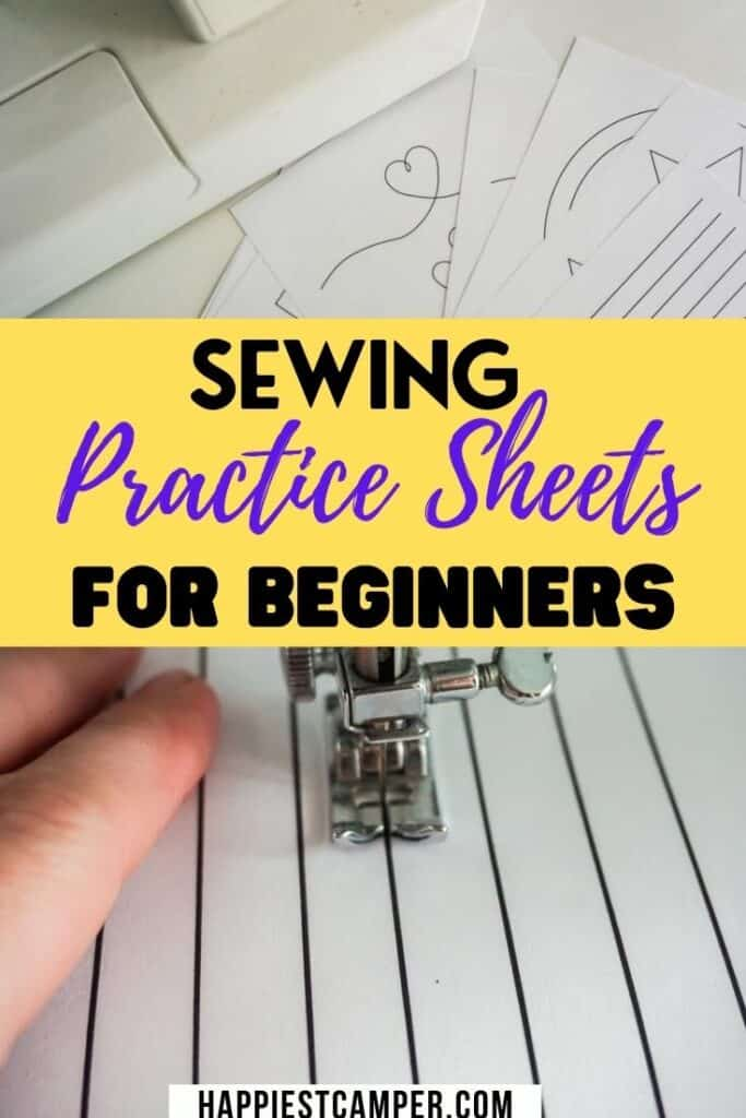 Free Practice Sewing Sheets To Help You Become a Pro Sewist!