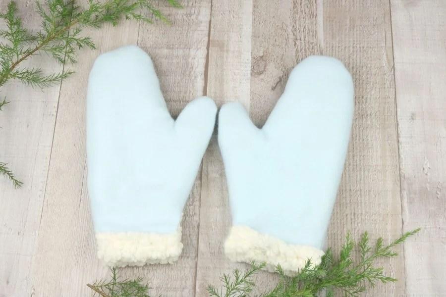 easy warm mittens