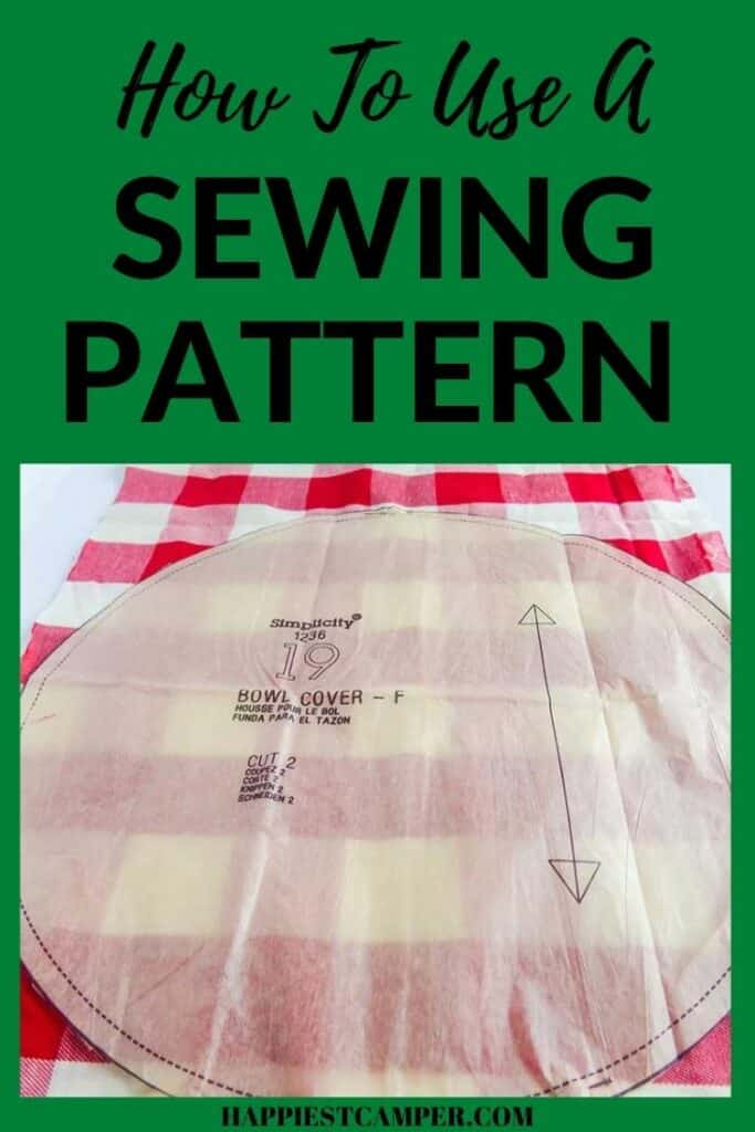 How To Use A Sewing Pattern