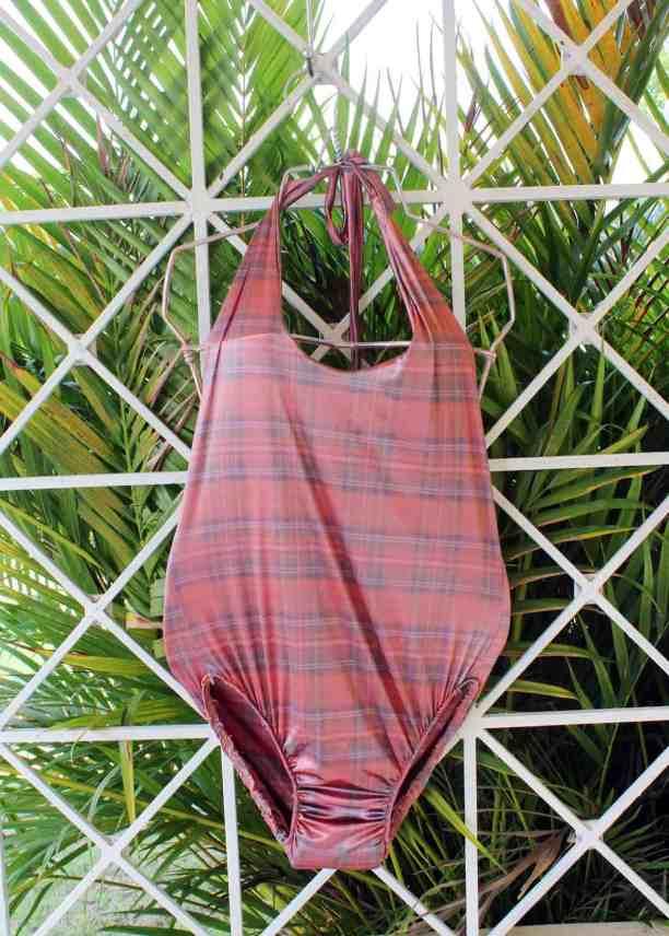 Women's One-Piece Swimsuit - Free Sewing Pattern