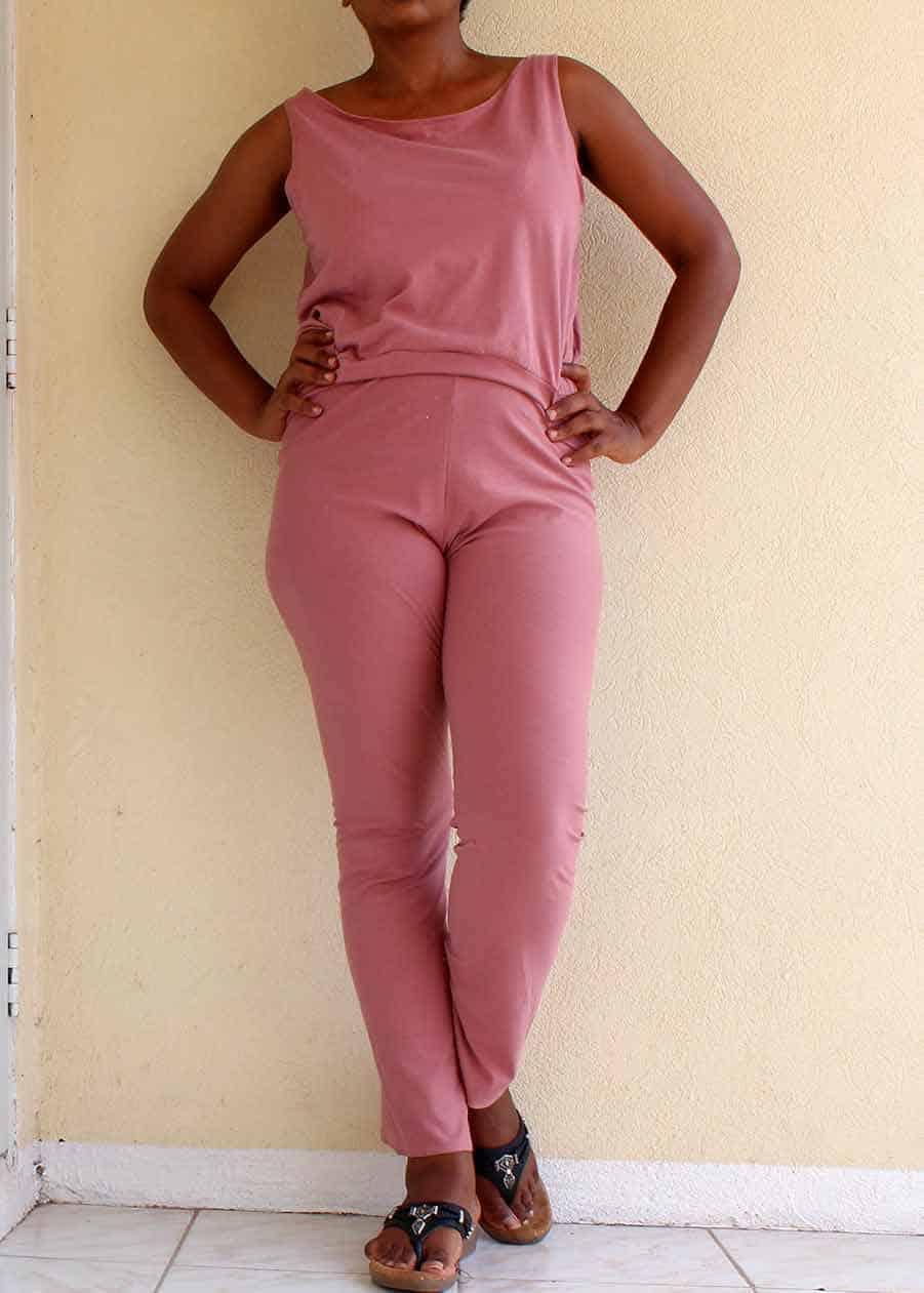 Women's Jumpsuit Free Sewing Pattern