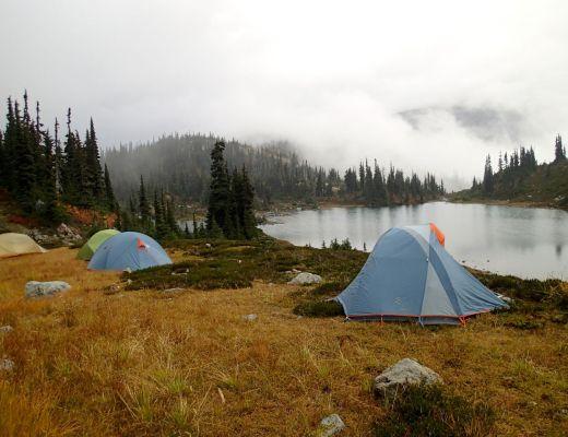 bear safe campsite