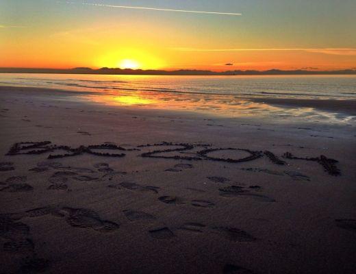 Wreck Beach Sunset