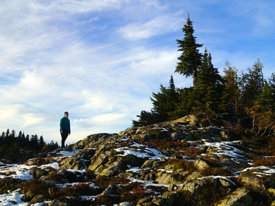 DePencier Bluff in Mount Seymour Provincial Park