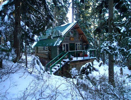 Hollyburn cabin.