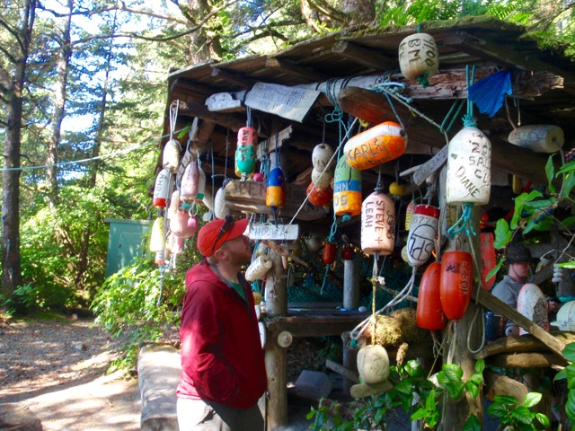 Surf Shack on the Nootka Trail