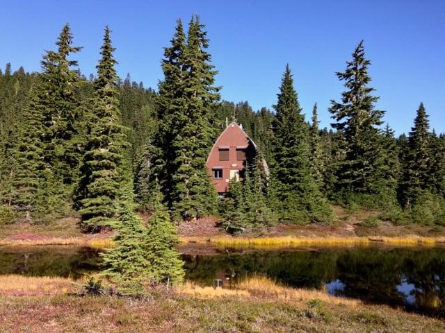 Ranger cabin in Strathcona Provincial Park