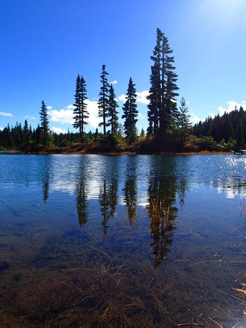 Battleship Lake in Strathcona Provincial Park