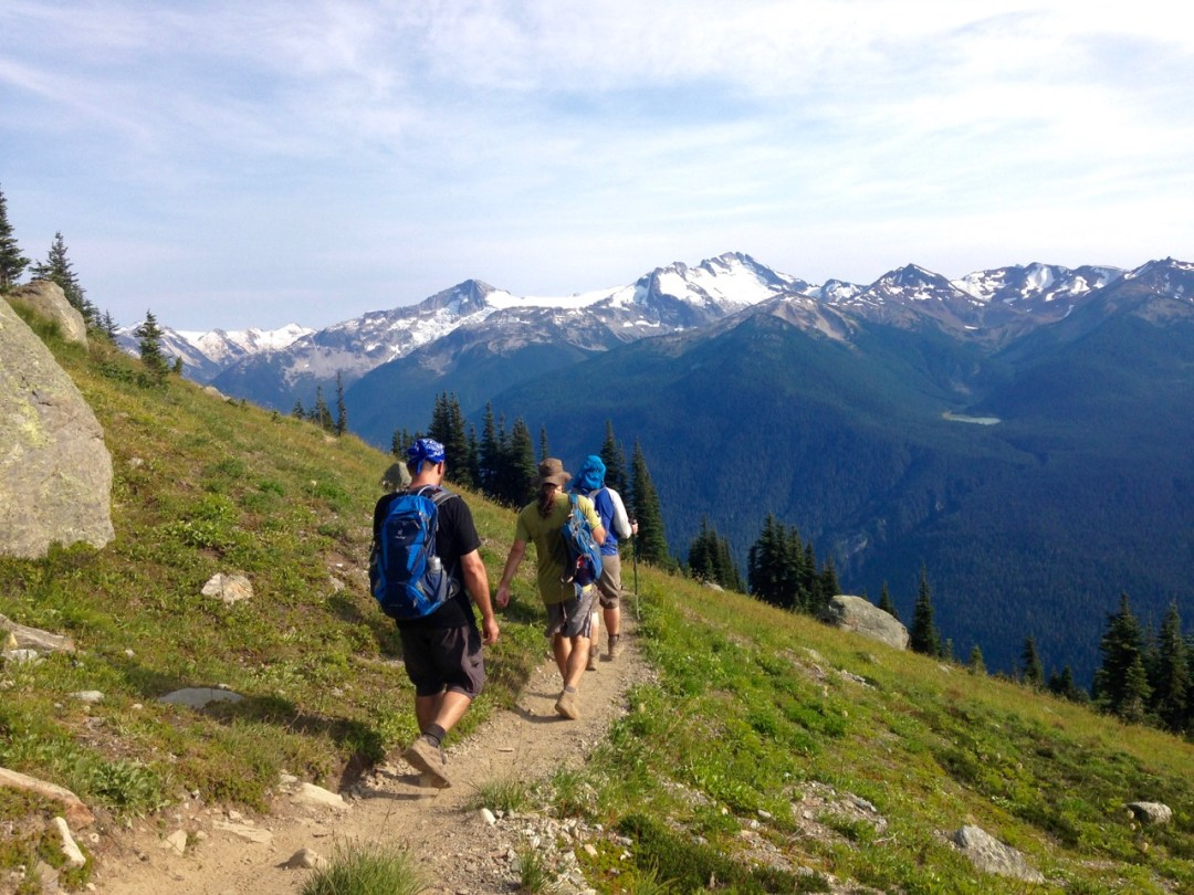 The High Note Trail at Whistler