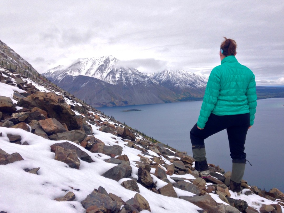 Hiking the King's Throne Trail in Kluane