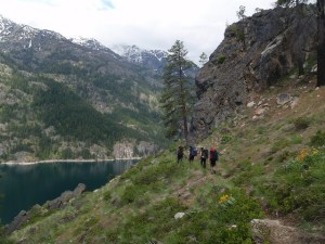 Spring Backpacking Near Vancouver: Chelan Lakeshore Trail