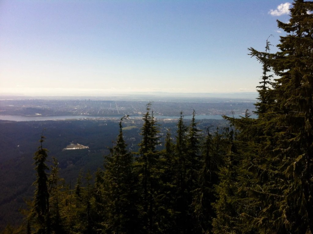 Lynn Peak in North Vancouver is a good alternative to the Grouse Grind.