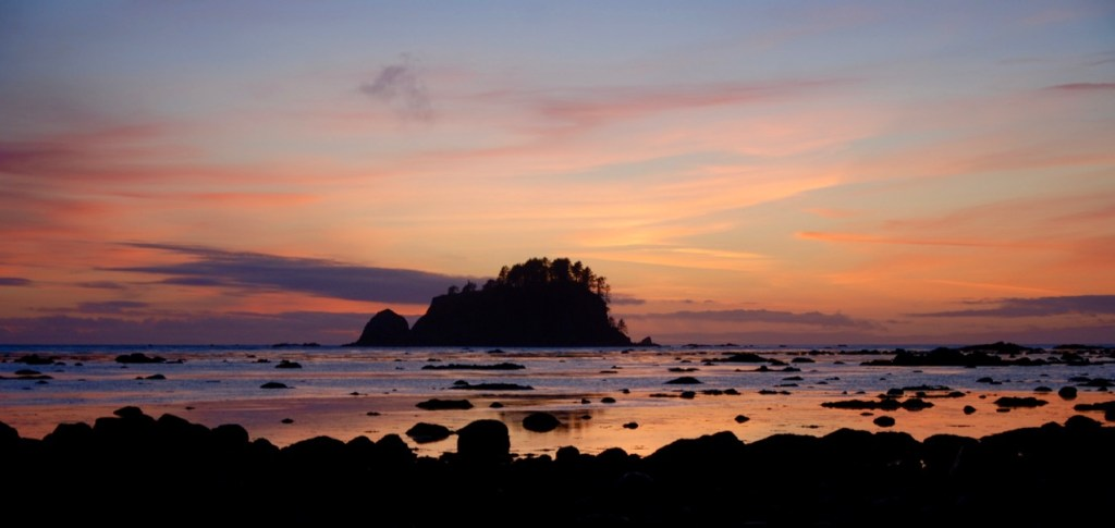 Sunset on the Ozette Loop