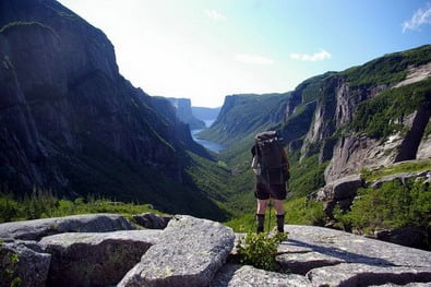 Hiking the Long Range Traverse in Gros Morne National Park, Newfoundland