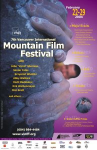2004 Vancouver International Mountain Film Festival