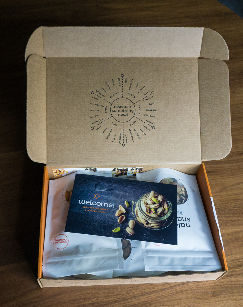 Naked Snacks Review: the Canadian snack subscription box that hikers will love. Healthy trail mix, nuts and dried fruit in flavour combos you'll want to take on every hike.