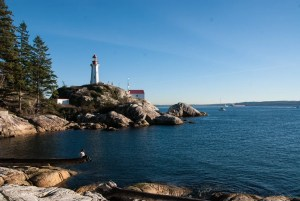 Lighthouse Park in West Vancouver. One of 6 easy hikes in Vancouver for beginners and tourists that deliver gorgeous west coast nature, with minimal effort. Plus they're transit accessible!