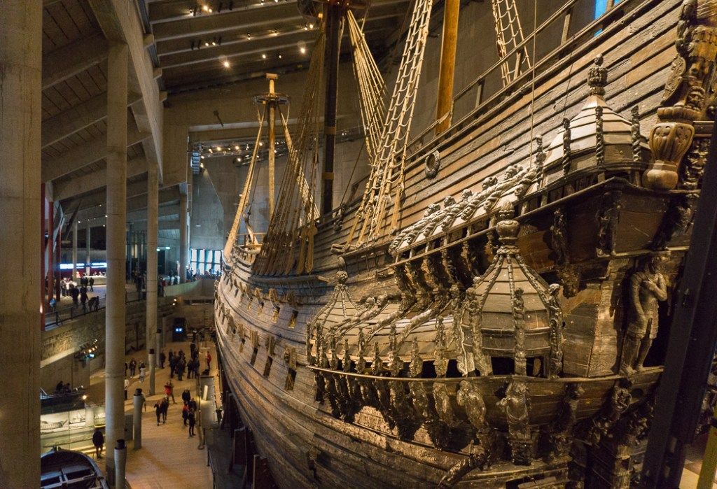 The Vasa Museum in Stockholm, Sweden. 30 photos of Stockholm that will inspire you to visit.