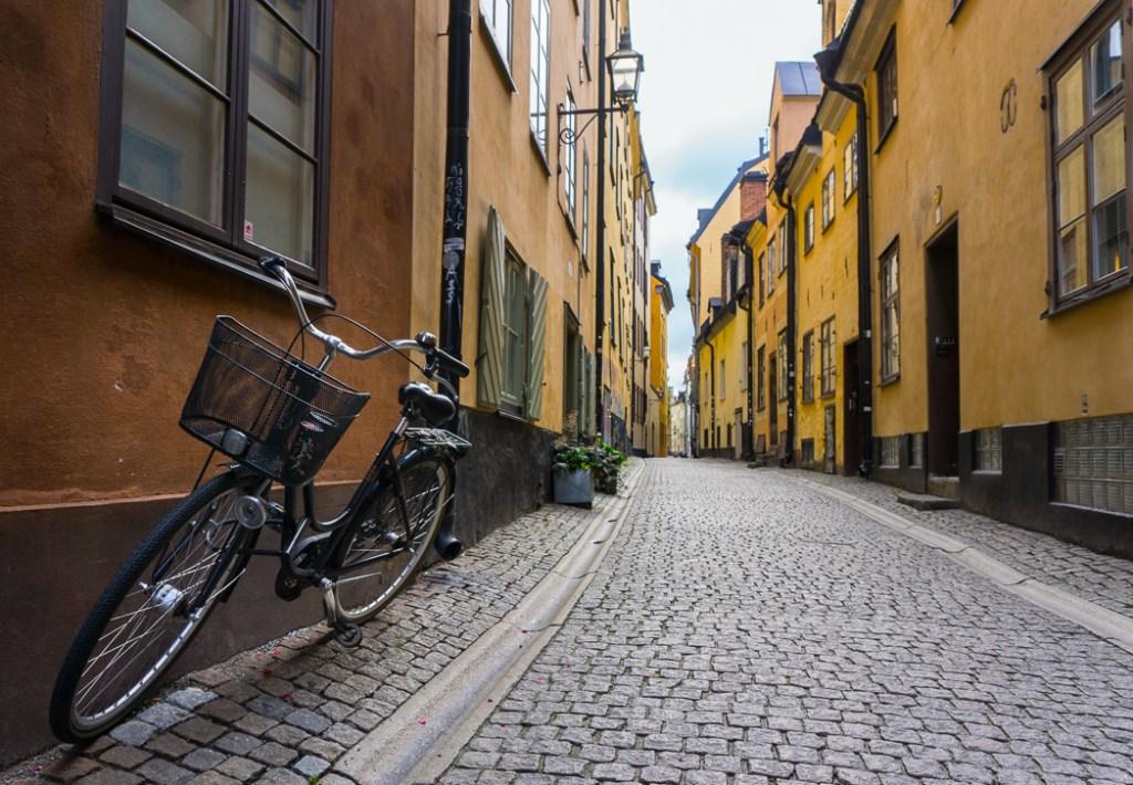 Prastgatan in Gamla Stan, Stockholm, Sweden