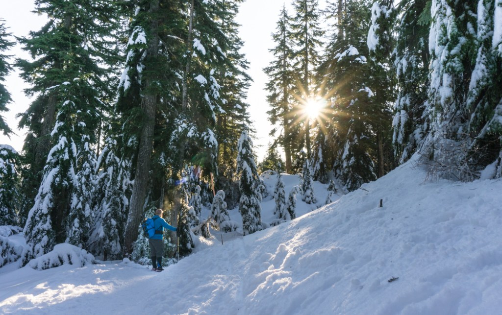 Snowshoeing at Black Mountain on Cypress Mountain near Vancouver, BC. The Ultimate Guide to Snowshoeing in Vancouver.