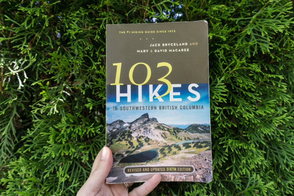 The sixth edition of 103 Hikes. Learn about the history of hiking guide books in BC from the 1st edition of 103 hikes in 1973 to the new 105 Hikes in and Around Southwestern British Columbia, published in 2018.