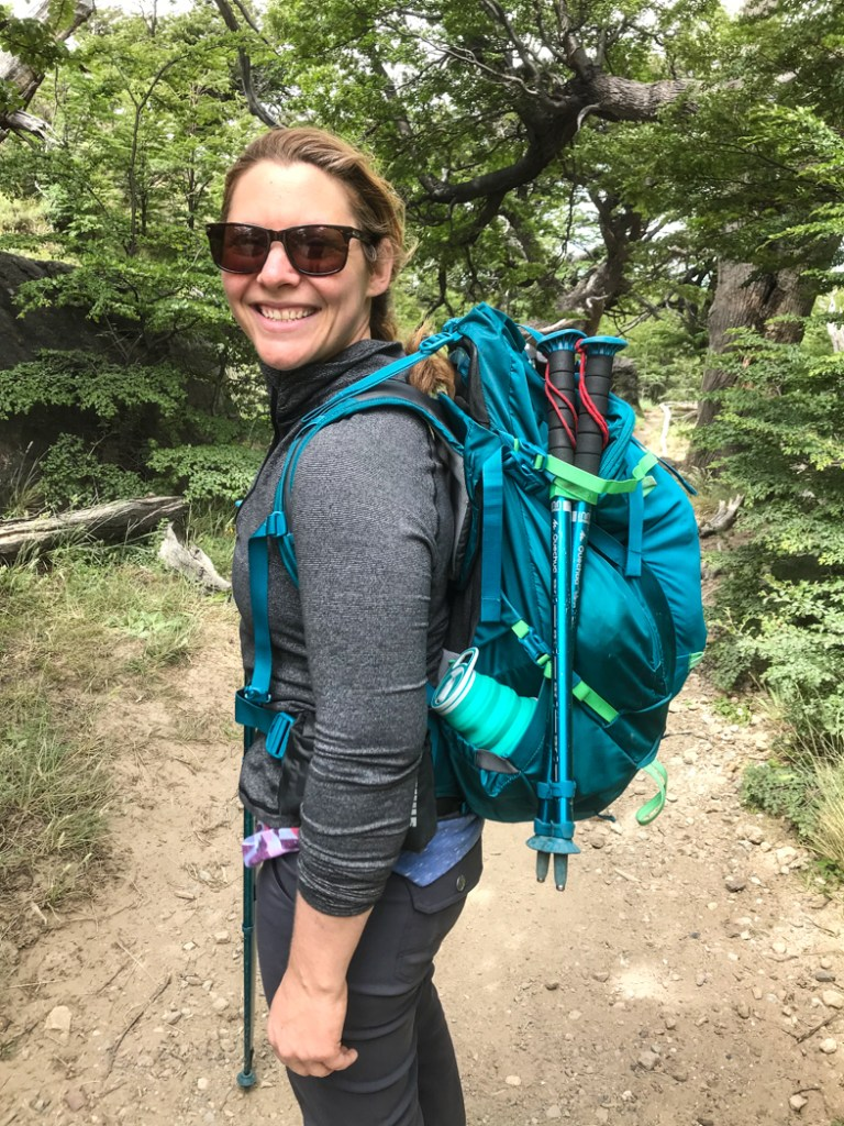 Best Multi-Day Pack for Petite Women Who Travel: Thule Versant 60 Womens. Learn how to find women's hiking backpacks and hiking gear for your body type.