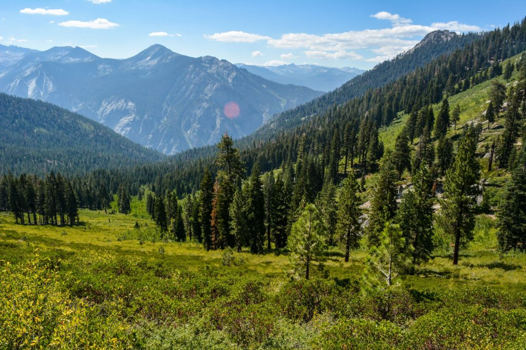 Hiking the Copper Creek Trail in Kings Canyon National Park - just one of many things to do in Sequoia and Kings Canyon National Parks.
