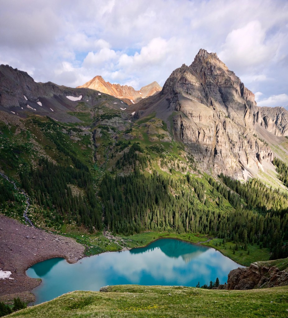 Blue Lakes in South West Colorado. One of the best lake hikes in Colorado.