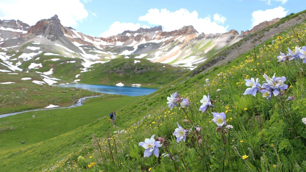 Ice Lakes Basin in South West Colorado. One of the best lake hikes in Colorado.