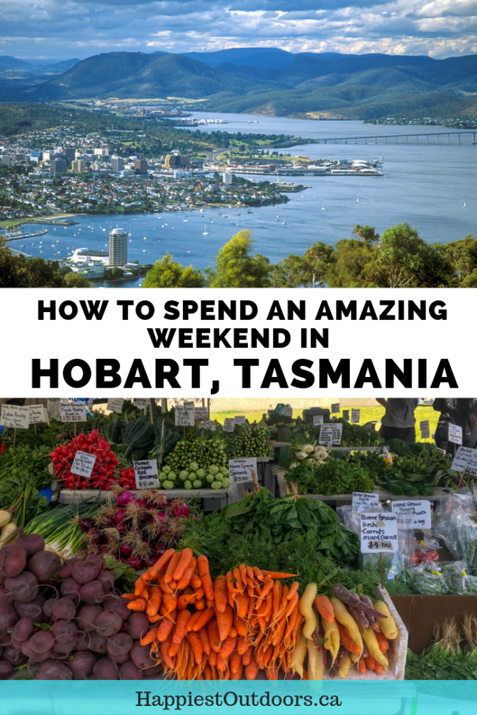 How to spend an amazing weekend in Hobart, Tasmania, Australia. Plan a great weekend getaway to Hobart with this 2-day itinerary. It includes recommendations on where to eat, stay, shop and sightsee. #Hobart #Tasmania #Australia