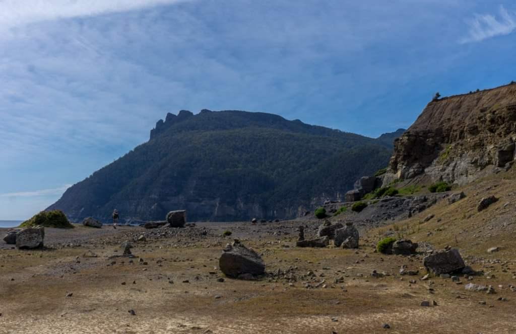 Fossil Cliffs on Maria Island, Tasmania