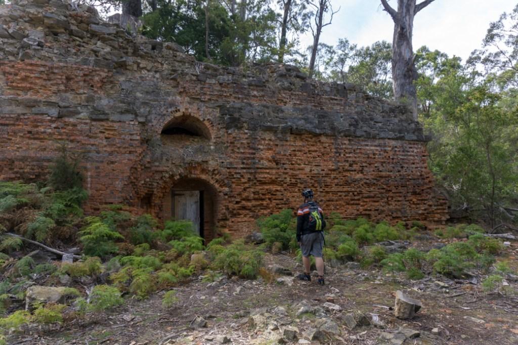 Convict-era ruins on Maria Island, Tasmania