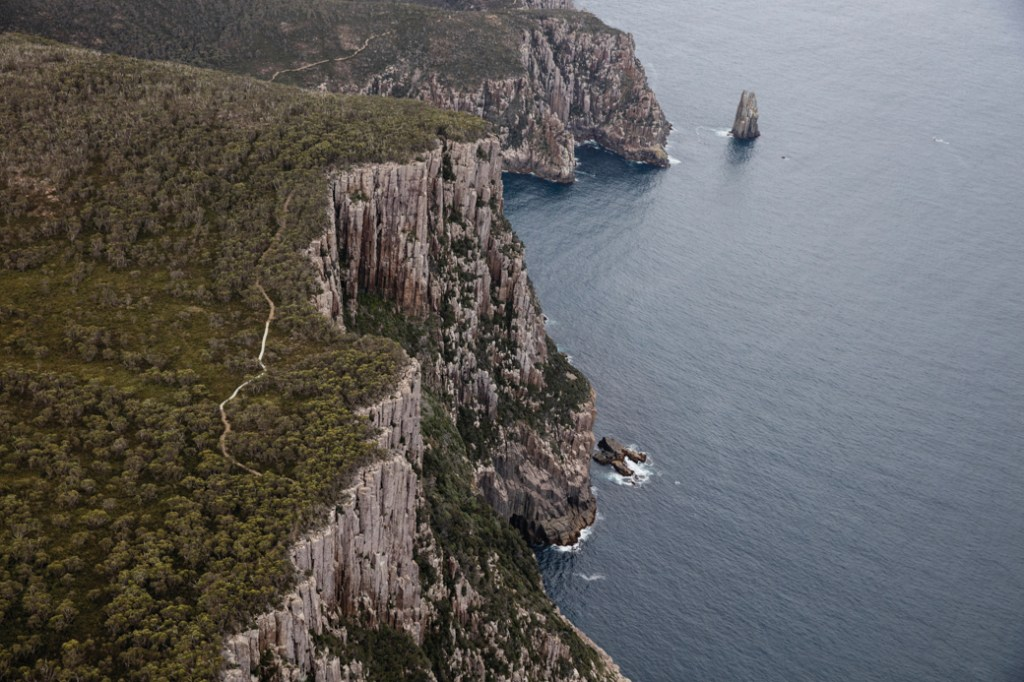 The Three Capes Track near Port Arthur in Tasmania, Australia