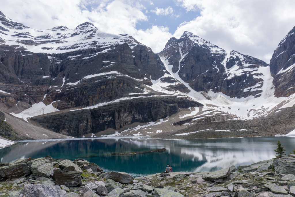 Lake Oesa near Lake O'Hara in Yoho National Park