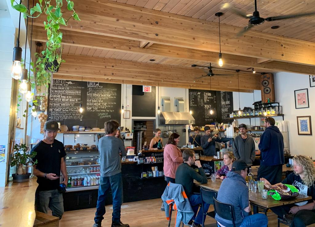 Dose Coffee in Revelstoke, BC